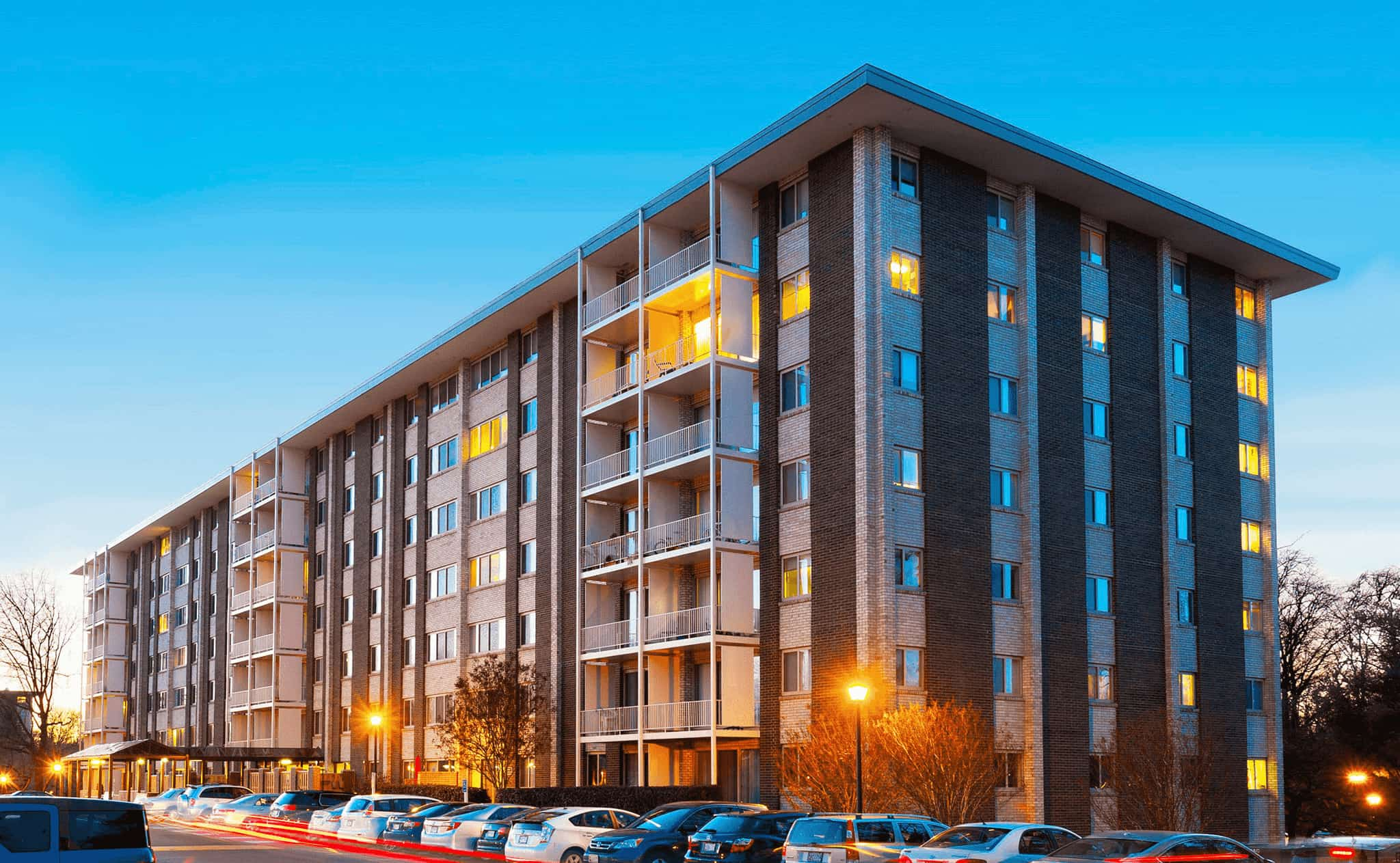 Congressional Towers Apartments exterior